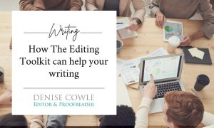 How The Editing Toolkit can help your writing