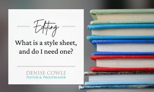 What is a style sheet and do I need one?