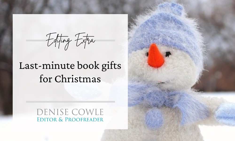 Christmas book gift ideas for writers and editors